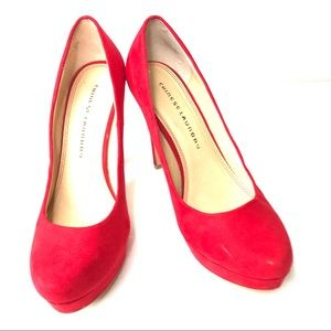 Chinese Laundry Bright Red Stiletto heels